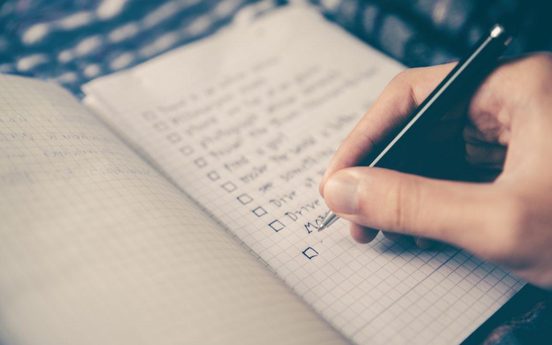 The Essential Pre-Date Checklist