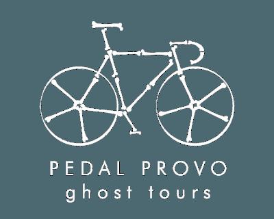 Pedal Provo Ghost Tour Logo