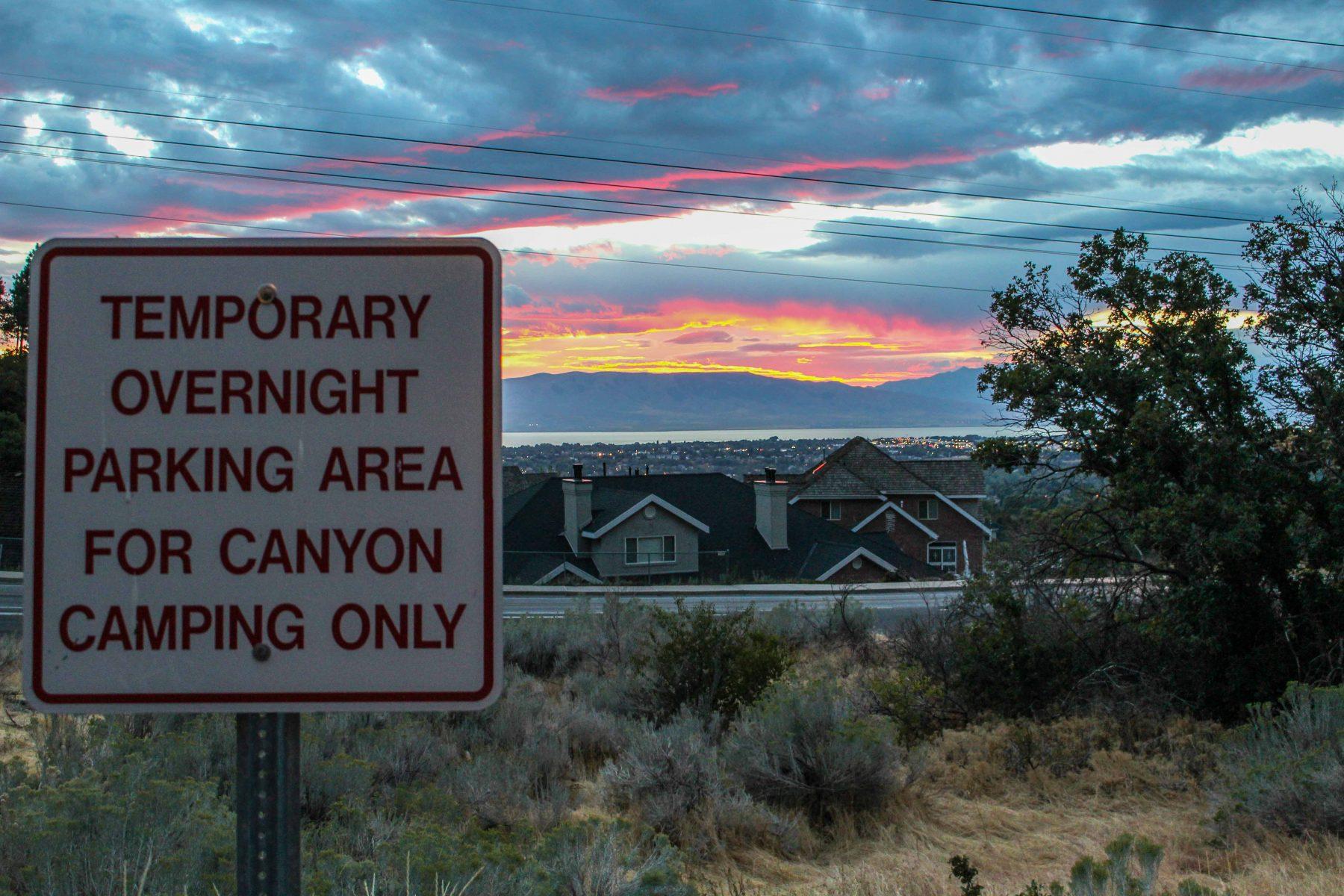Rock Canyon Park Sign Park