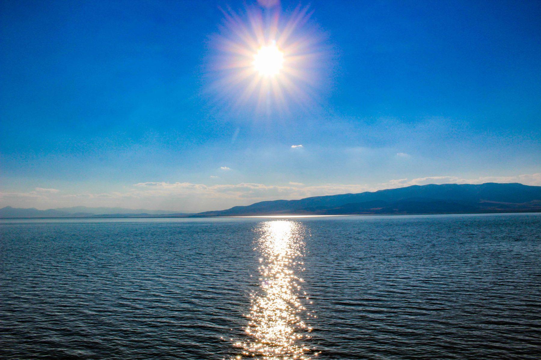 Utah Lake Sunny