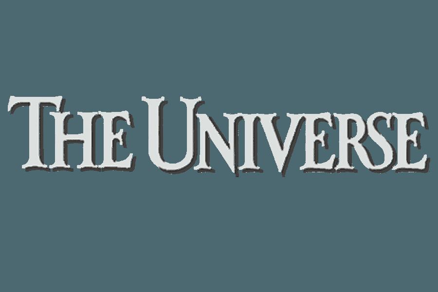 The Universe BYU Logo White